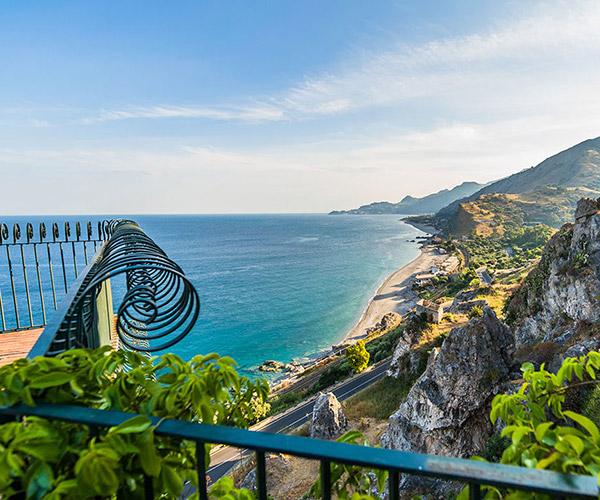 Souvenirs d'été : La mer en Sicile