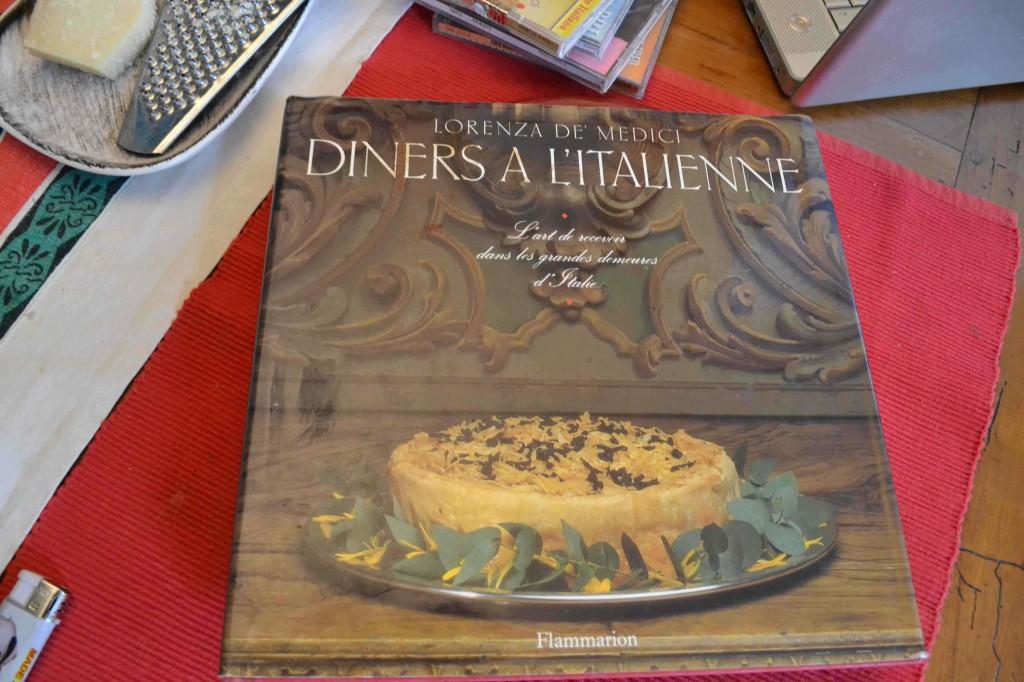 Bénédict Beaugé et la cuisine italienne