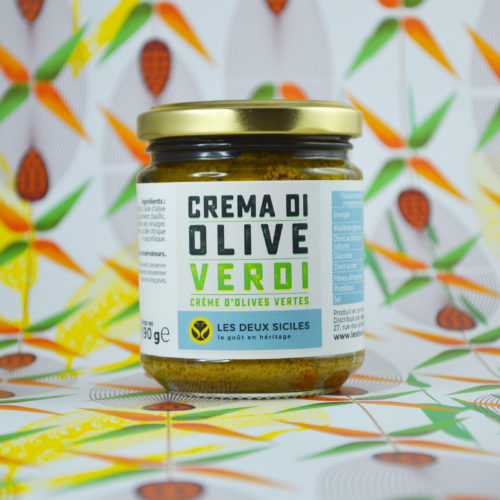"""crème de olives vertes"""