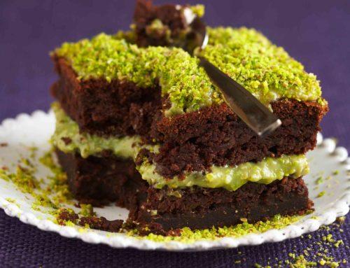 Gâteaux au chocolat et pistache