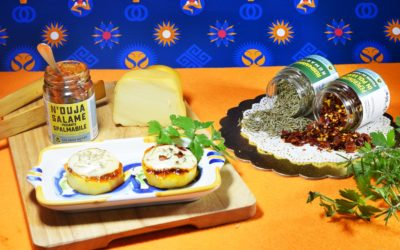 Rondelles de Pommes de terre et N'duja