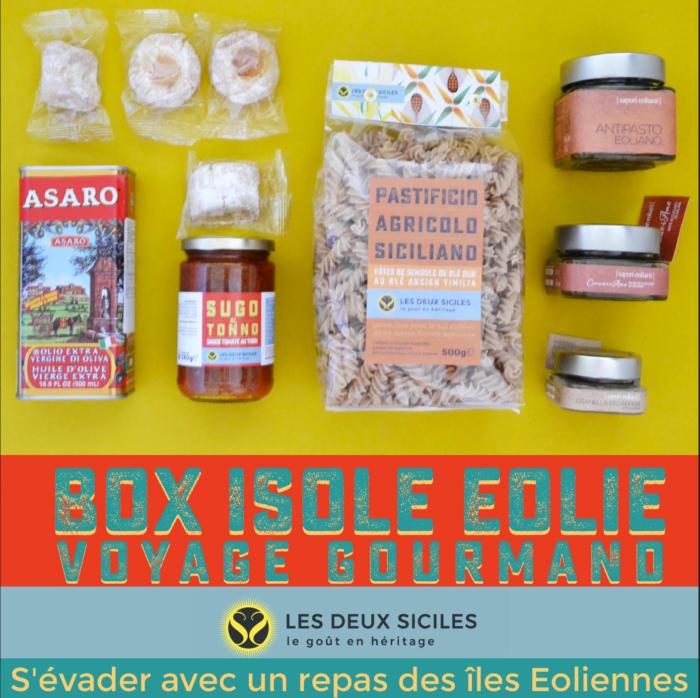 BoxVoyage Gastronomique Isole EOLIE