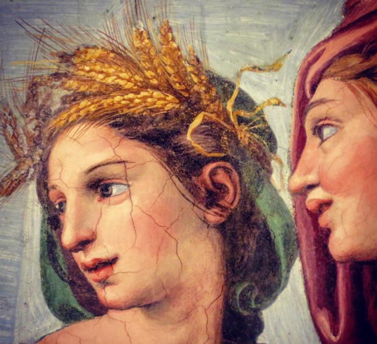Cérès et Proserpine et la ville de Enna