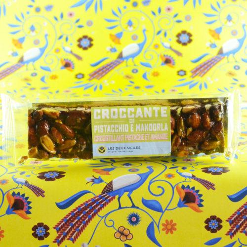 Croccante pistache et Amandes