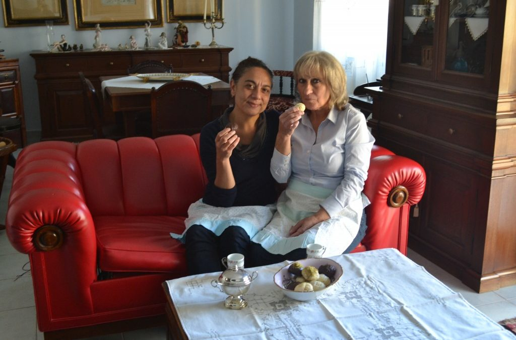 Zia Concetta Caterina et les Totò, gâteaux des morts