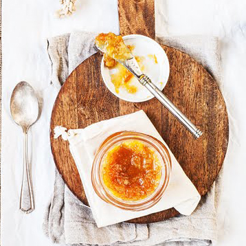 strudel à la marmelade d'orange et chocolat
