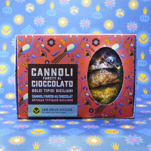 coffret de cannoli au chocolat