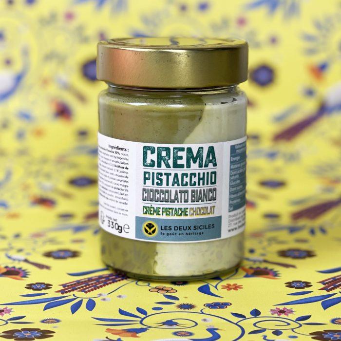 crème choco blanc pistache