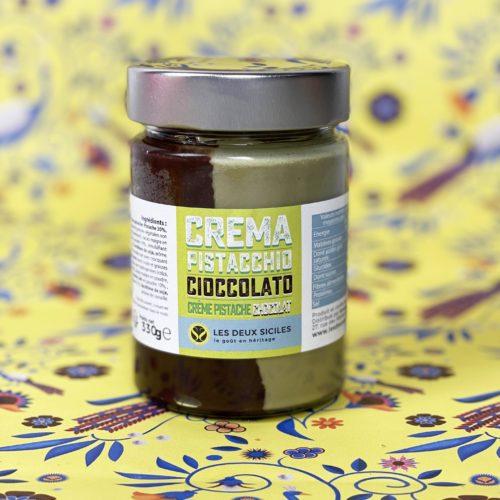 crème choco pistache