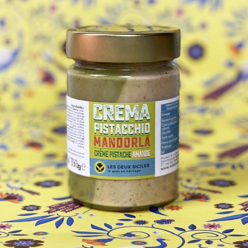 crème pistache et amande