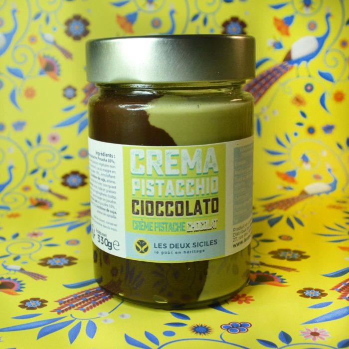 Crème de chocolat et pistache