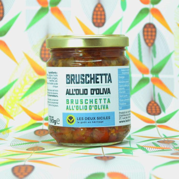 Bruschetta à l'huile d'olive