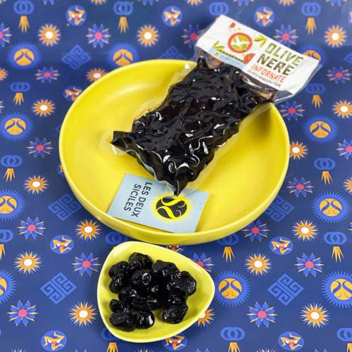 olives noires au four