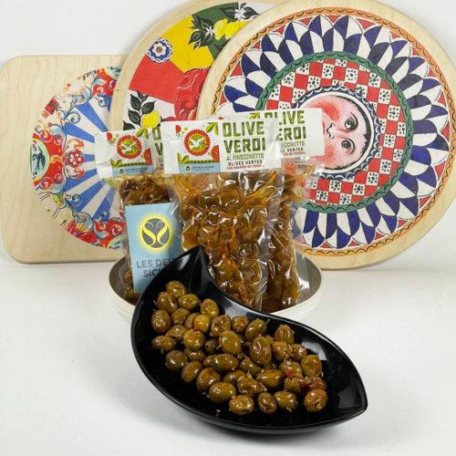 olives vertes fenouil