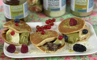 Deux minutes chrono : pain cakes à la pistache.