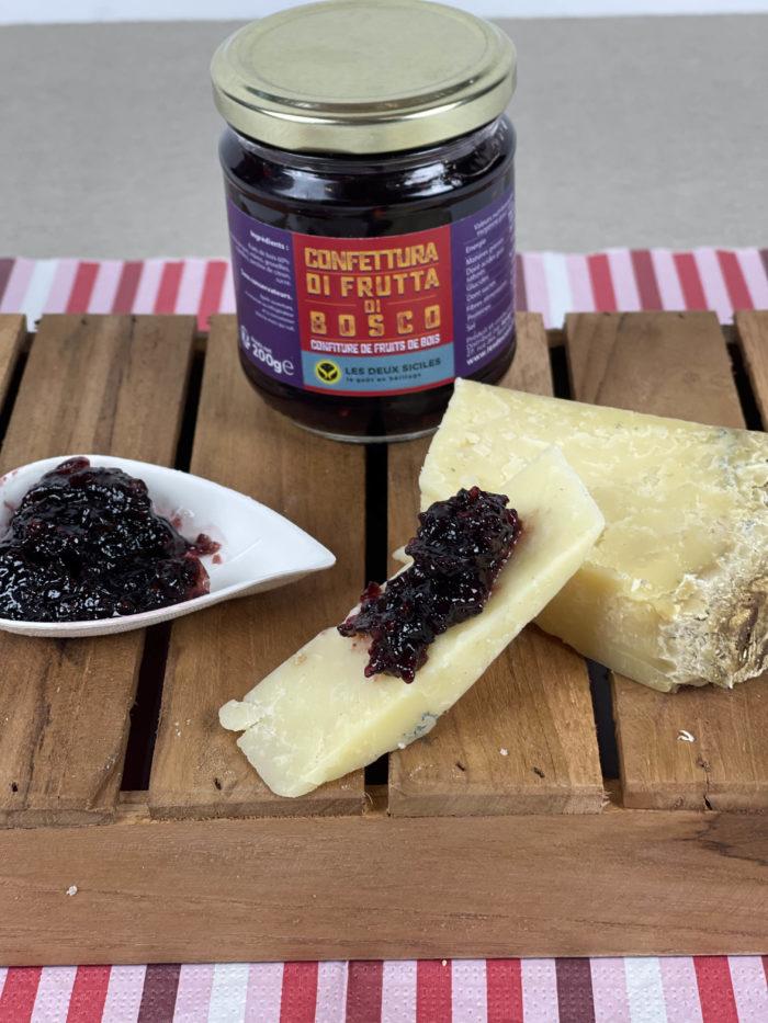 fruits de bois et fromages